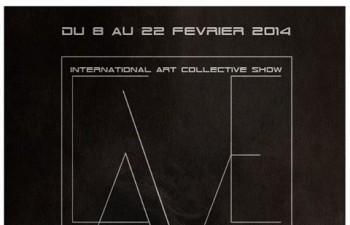 MONCH – Exposition collective  – THE CAVE #2 – Du 8 au 22 février 2014 – Paris
